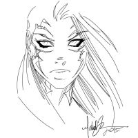 Witchblade Turner my Inks 1 by JamesLeeStone