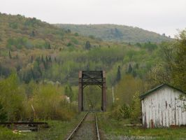 Searchmont Railway Bridge by historicbridges
