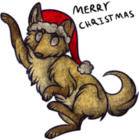 25 CHIBIS OF CHRISTMAS - 25: MURRy chrismasz by bakIava