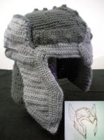 Thor Inspired Helmet with Wings by melibusla