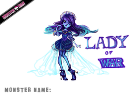 Contest: Lady of War by MoiFox