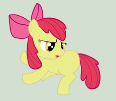 Apple Bloom Blank Flank (FREE TO USE) by KenChanCake
