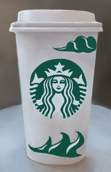 Starbucks Coffee Cup Redesign by shufet