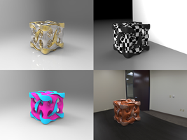Twisted Looped Cube Thing by Tate27kh