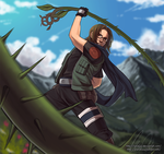 Thorn Whip by Lanaluu