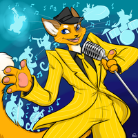 Swag Cat and the Hep Cats by HellLemur