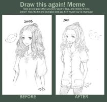Meme: Before and After by CheekyZhu
