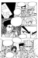 Double Blackness volume 5 Page 1 Preview inks by nigz
