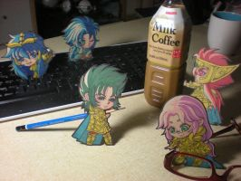 Little Saints on Your Desk by BX211
