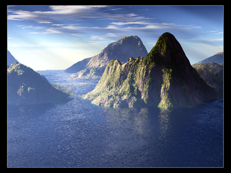 Island Mountains by niclake13