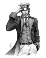 Commission - Corto Maltese by kagaminoir