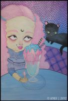 The Ice Cream Eater by l0ll3