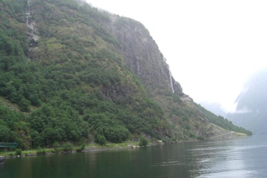 Cliff of the Fjord by Artist-Wanted