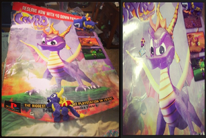 Spyro-Gigantic Spyro the Dragon Poster by KrazyKari