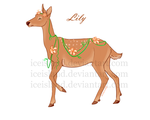 Adopt-Deer Flower/Lily- Auction/CLOSED// by IceIsland