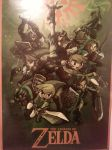 Zelda Poster - Linked Together by HawtLinkGasm64