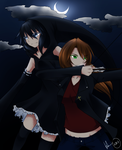A Night Angel and a Grim Reaper by GabrielRaven