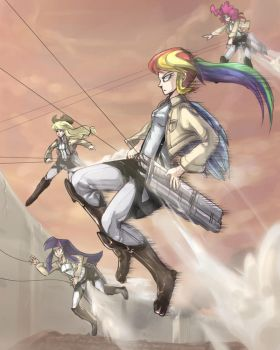 Attack on Ponies by UC77