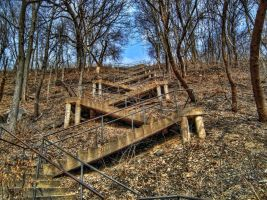 Stairs - HDR by Austron