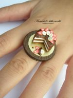 Chocolate cake ring by anarniell