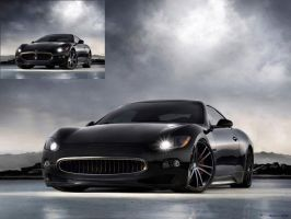 Modified Maserati GranTurismo by ryn004