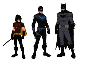 Batfamily by JoeMDavis