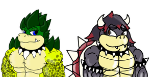 Koopa Brothers |Collab| by Nohrian-Scum