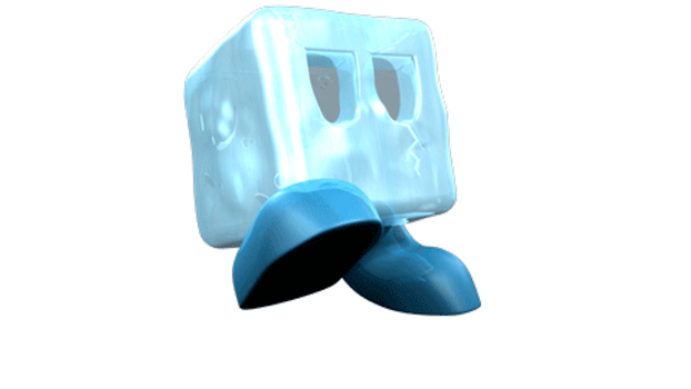 3D Ice Cube character by Master-Cehk