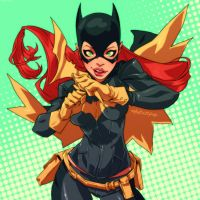 Batgirl by Mikuloctopus