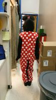 The Minnie Mouse Kigurumi outfit (back) by 8TeamFriends8