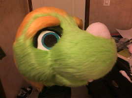 Needs A Shave but mostly done fursuit head: Ratsby by KingTheory