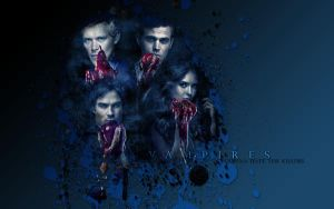 The Vampire Diaries Wallpaper by McOlussska