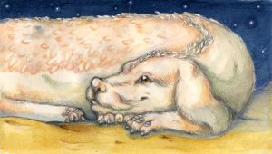 Falkor, The Luck Dragon by WinterImp