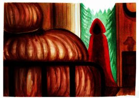 Little Red Riding Hood story (5/7) by Celtilia