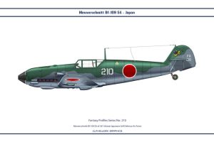 Fantasy 210 Bf-109 Japan by WS-Clave