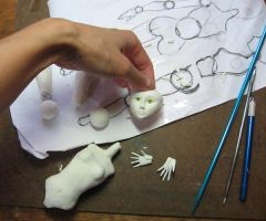 Ball joint doll in progress 1 by puimun