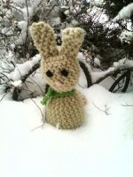 Bunny In the Snow by 329
