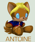 Plushie Collection: Antoine by Omnicenos