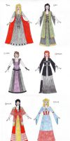 Avengers - Disney Princesses by honest-liar-13