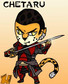 Chetaru (Submission for Lenora's 44 Samurai) by Lockheart23