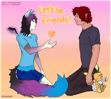 Let's Be Friends by LadyKinadai