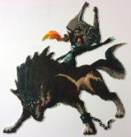 Wolf Link & Midna Bead by detailonly