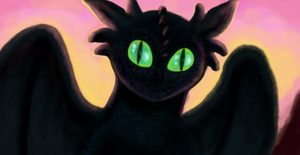 First Toothless - Muro by Atrixfromice