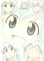Ika Musume Collage by Chocolate-Luver