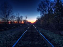 Sunset Tracks by Austron