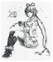 Luo TianYi :D by Sacchim