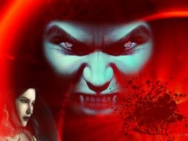 Red vampire by Norhi