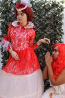 The Red Queen and Card Solder 11 by MajesticStock
