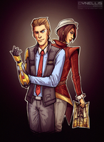 Tales from the Borderlands by cynellis