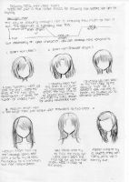 Manga School: Drawing Drawing Teens Hair Part 2 by Ani-maiden369